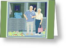 Bev And Jack Greeting Card