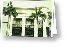Beverly Hills Rodeo Drive 2 Greeting Card