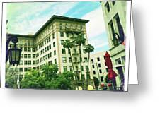 Beverly Hills Rodeo Drive 3 Greeting Card