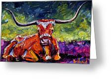 Bevo Greeting Card