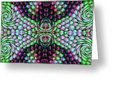 Bewitched Pattern Three Greeting Card