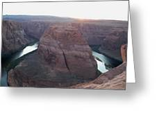 Bend At The River Greeting Card