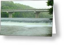 Beyond Otranto Dam Greeting Card