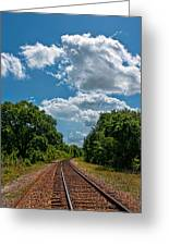Beyond The Bend Greeting Card