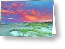 Beyond The Dunes Greeting Card