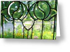 Beyond The Glass Greeting Card