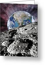 Beyond The Moon Greeting Card