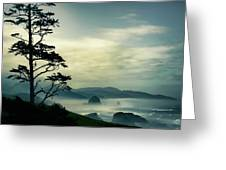 Beyond The Overlook Tree Greeting Card