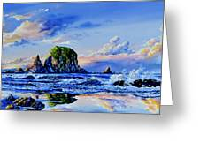 Beyond The Shore Greeting Card