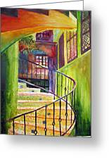 Beyond The Steps Greeting Card