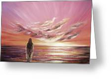 Beyond The Sunset Greeting Card