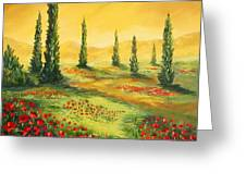 Beyond The Tuscan Sun  Greeting Card