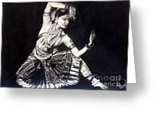 Bharatnatyam Greeting Card