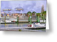 Bhi Marina Purple Hue Evening Greeting Card