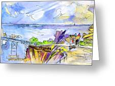 Biarritz 09 Greeting Card