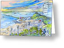 Biarritz 26 Greeting Card