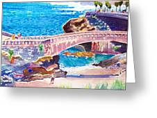 Biarritz Greeting Card