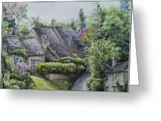 Bibury Village Greeting Card