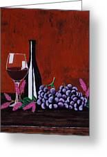 Bicchiere Di Vino Greeting Card