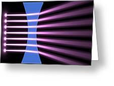 Biconcave Lens 2 Greeting Card