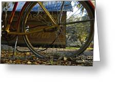 Bicycle At Micanopy Greeting Card