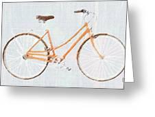 Bicycle Blues Greeting Card