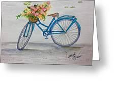 Bicycle I Greeting Card