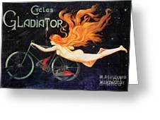 Bicycle Poster, C1905 Greeting Card