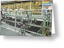 Bicycle Rack Greeting Card