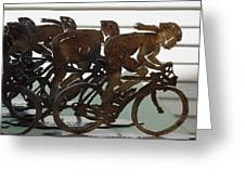 Bicycle Trophies Greeting Card