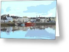 Bideford Quay North Devon Greeting Card