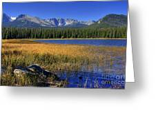 Bierstadt Lake Shoreline 2 Greeting Card