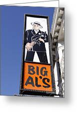 Big Al Greeting Card by Denise Pohl