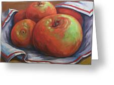 Big Apples Greeting Card
