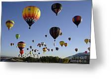 Big Balloons Greeting Card
