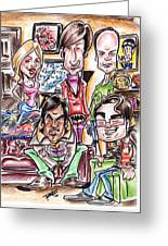 Big Bang Theory Greeting Card by Big Mike Roate