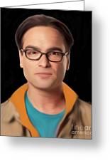 Big Bang Theory Leonard Greeting Card
