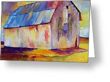Big Barn I  Greeting Card
