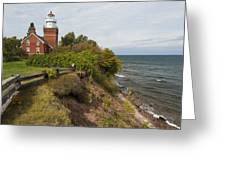 Big Bay Point Lighthouse 2 Greeting Card