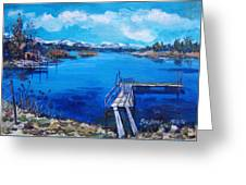 Big Bear Lake 1 Greeting Card