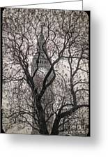 Big Ben From The Square Greeting Card