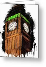 Big Ben In London Greeting Card