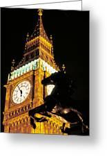 Big Ben In London Greeting Card