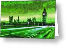 Big Ben London - Da Greeting Card