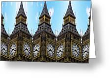 Big Ben Time Greeting Card