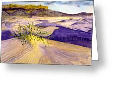 Big Bend Landscape II Greeting Card