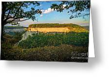 Big Bend Sunrise Letchworth Greeting Card