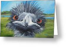 Big Bird - 2007 Greeting Card
