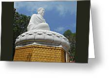Big Buddha 2 Greeting Card