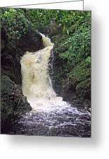 Big Burn Waterfall Greeting Card